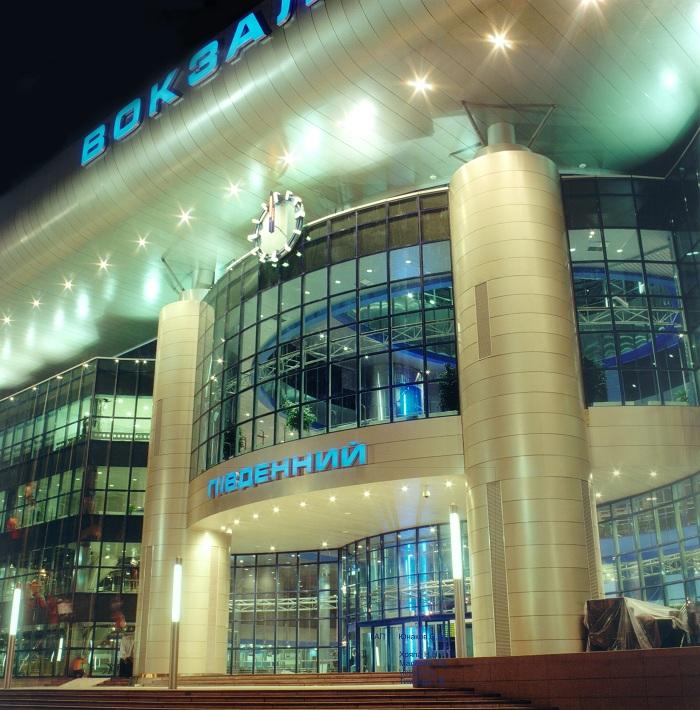 Проект железнодорожного вокзала в Киеве реализованный ...: http://yunakov.com/vokzal.html
